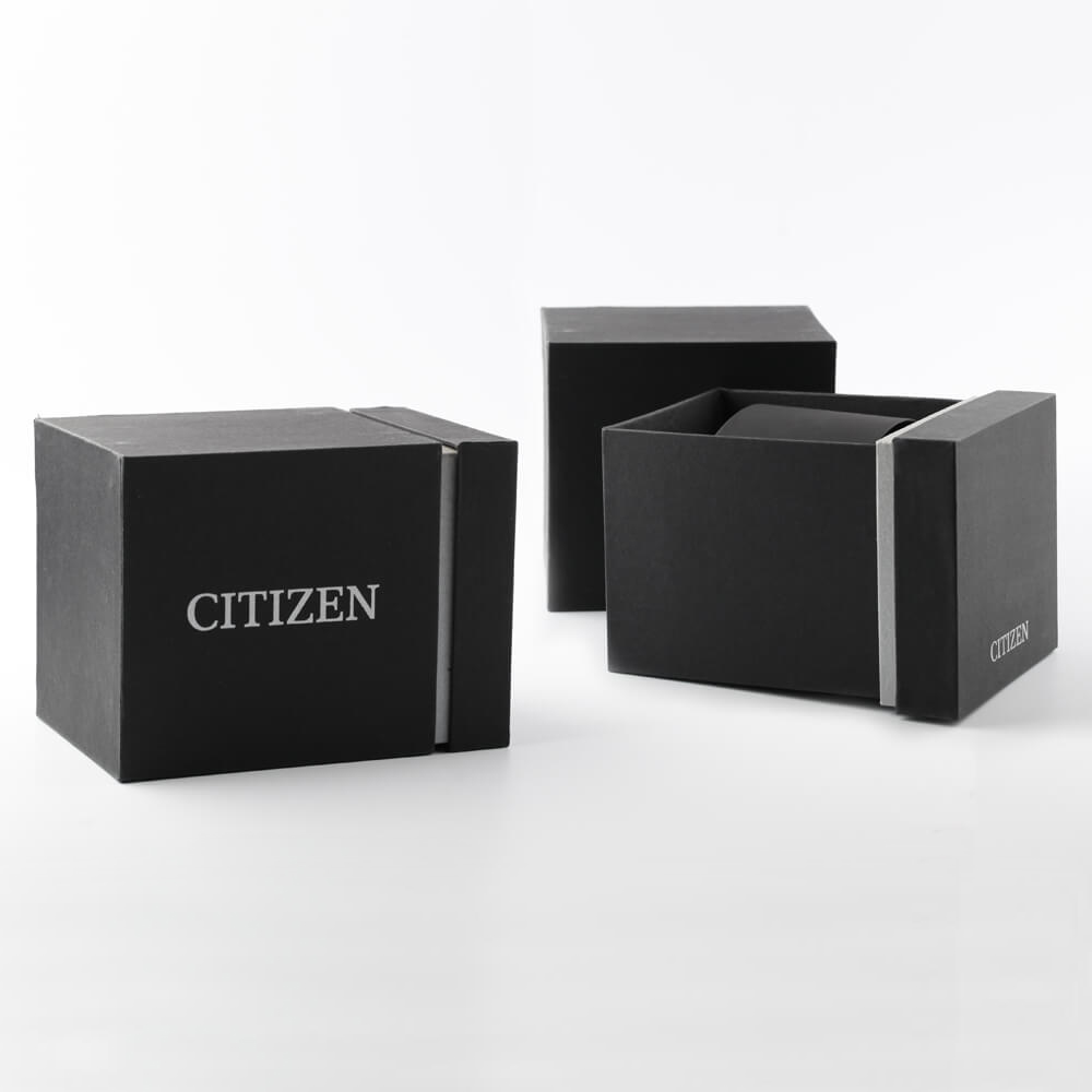Rectangular Eco-Drive ladies watch with crystals Collection Printemps-Eté Citizen