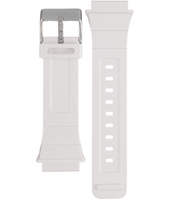 AADH4056 ADH4056 Peachtree 20mm White rubber strap with stainless steel buckle