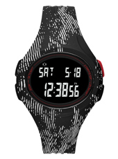 ADP3178 Uraha Black Energy 42mm Black Striped Active Sports Watch