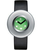 AL12001 Ciclo by Ettore Sottsass 40mm Deisgn watch with Green Dial