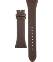 A3148-02 3148-02 Brown Leather 22mm Brown leather strap without buckle