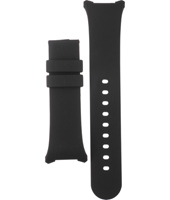 A3782-01 3782-01  14mm Black rubber strap without buckle