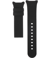 A3782-02  14mm Black Plastic/Resin Strap without Buckle