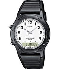 AW-49H-7BVEF Dual Time 38mm