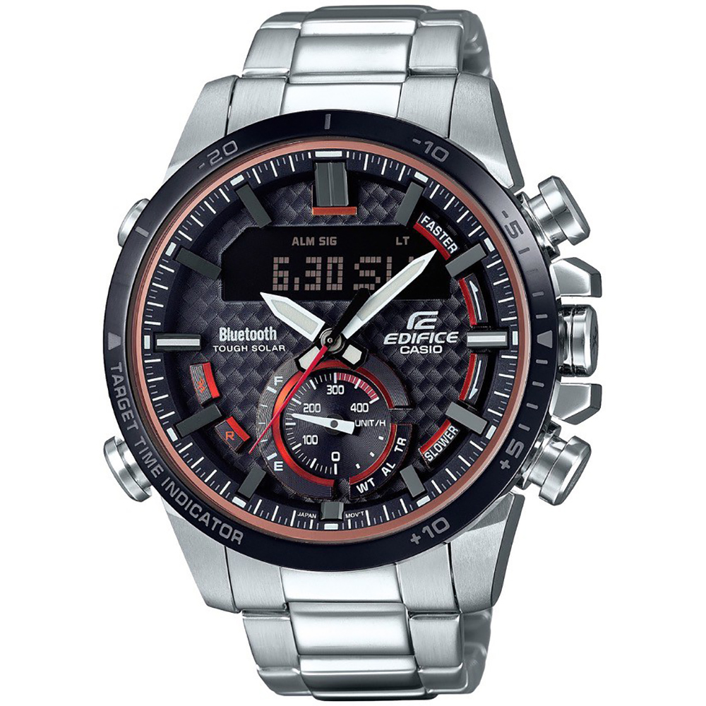 montre casio edifice bluetooth ecb 800db 1aef bluetooth connected ean 4549526199813. Black Bedroom Furniture Sets. Home Design Ideas