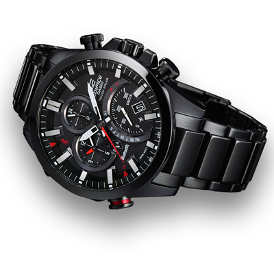 montre casio edifice eqb 500dc 1aer bluetooth. Black Bedroom Furniture Sets. Home Design Ideas