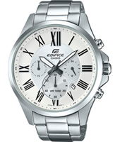 EFV-500D-7AVUEF EFV-500D 47.20mm Steel & white chronograph with date