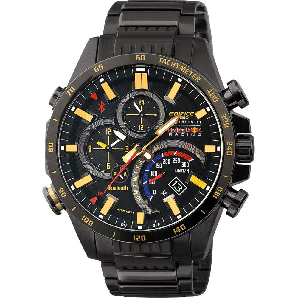 montre homme casio edifice red bull