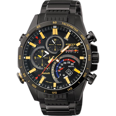 montre casio edifice eqb 500rbk 1aer red bull racing. Black Bedroom Furniture Sets. Home Design Ideas