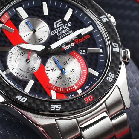 Casio Edifice montre bleu