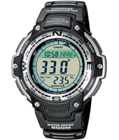 SGW-100-1VEF  47.60mm Watch with Compass & Thermometer