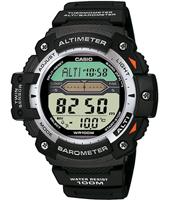 SGW-300H-1AVER  50mm Watch with Alti & Barometer