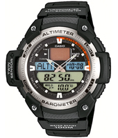 SGW-400H-1BVER  51.90mm Watch with Alti & Barometer