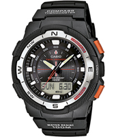 SGW-500H-1BVER SGW-500H-1BVEF 46.80mm Watch with Compass & Thermometer
