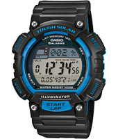 STL-S100H-2AVEF  45.40mm Runners Lap Timer Watch
