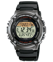 W-S200H-1AVEF  44.60mm Solar Runners Lap Timer Watch