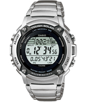 W-S200HD-1AVEF  44mm Solar Runners Lap Timer Watch