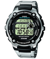 WV-200DE-1AVER  47.70mm Silver Radio Controlled Watch