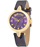 R7251149502 Just Florence 34mm Gold & Purple Ladies Fashion Watch