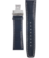 59-R50175  23mm Blue Leather strap
