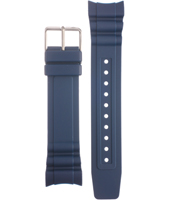 59-S52733  23mm Blue Rubber strap