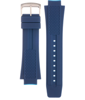 59-S52078 AT2025-11A ECO-DRIVE Blue Mens Watch 16mm Blue Silicone Strap