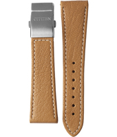 59-S52167 E670-S035899 Model AS4020-44B 23mm Camel Leather Strap