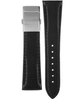 59-S51357 Radio Controlled 4-S035899 23mm Leather Strap with Folding Clasp