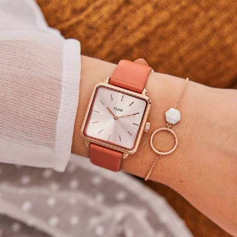 montre Or Rose Quartz