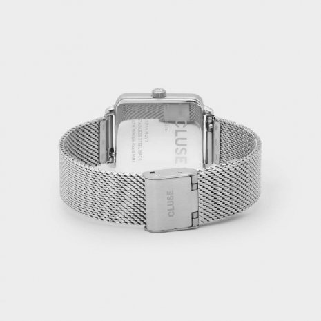 Square Ladies Quartz Watch on Mesh Bracelet Collection Automne-Hiver Cluse