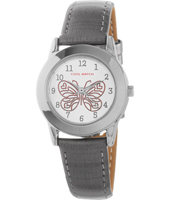 CW.186 Butterfly Grey Kids Watch