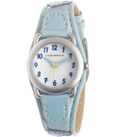 CW1584  Light Blue Kids Cuff Watch