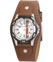 120063 Formula 1 Brown Boys Cuff Watch