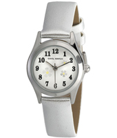 CW.200 Little Flower Silver Kids Watch
