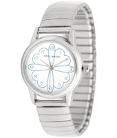 CW.189 Lover Flower Silver Kids Watch