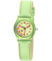 917018 Sunshine Green Girls Watch