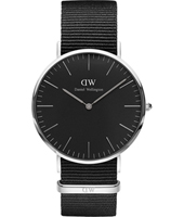 DW00100149 Classic Cornwall 40mm Classic Slim design two hand quartz watch