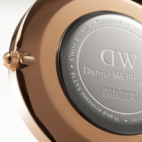 Daniel Wellington montre Or Rose