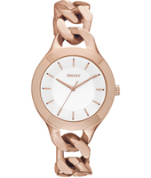 NY2218 Chambers Rose Gold Lady Trend Watch