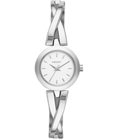 NY2169 Crosswalk Silver Round Lady Watch