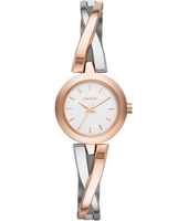 NY2172 Crosswalk Bicolor Rose Gold Ladies Watch