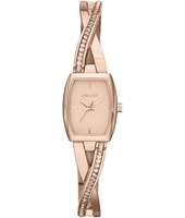 NY2238 Crosswalk Trendy Rose Gold Ladies watch