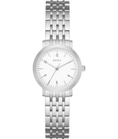 NY2509 Minetta Small Silver ladies quartz watch