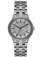 NY2384 Parkslope Grey ladies watch with steel bracelet