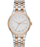 NY2464 Parkslope Bicolor Rose Ladies Quartz Watch