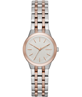 NY2493 Parkslope Small Bicolor Rose Ladies Quartz Watch