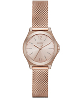 NY2489 Parsons Mini Rose Gold Ladies Mesh Watch