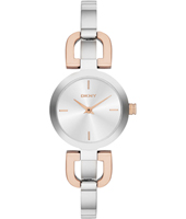 NY2137 Reade D-Link Fashionable two-tone ladies watch