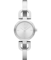 NY8540 Reade D-Link  24mm Fashionable Silver Ladies Watch