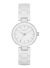 NY2354 Stanhope Mini Silver fashion ladies watch with white steel bracelet